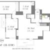 在港区内租赁3LDK 公寓大厦 的 楼层布局
