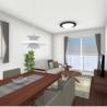 2LDK Apartment to Rent in Kamakura-shi Living Room