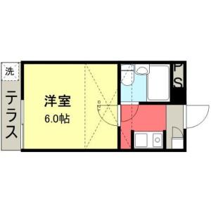 1K Apartment in Osu - Ichikawa-shi Floorplan