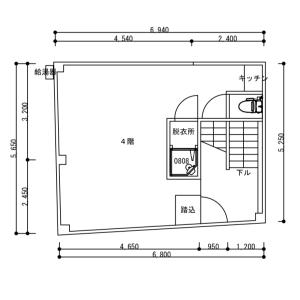1R Mansion in Higashienokicho - Shinjuku-ku Floorplan