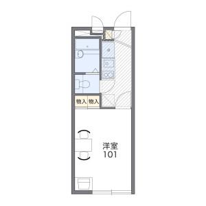 1K Apartment in Kawaguchi - Kawaguchi-shi Floorplan