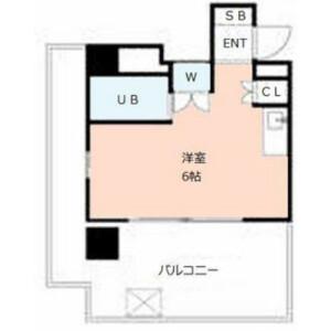 横濱市港北區綱島西-1K公寓大廈 房間格局