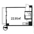 1R Mansion in Himonya - Meguro-ku Floorplan