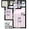 在豊島區內租賃1LDK 公寓 的房產 房間格局