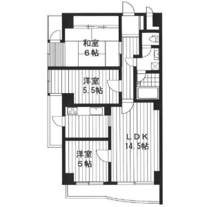 3LDK Mansion in Nakamurakita - Nerima-ku Floorplan