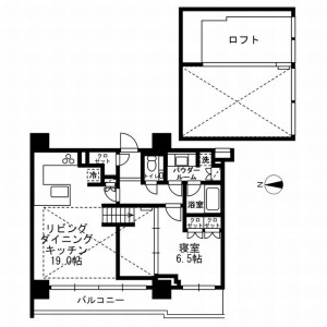 1LDK Mansion in Yushima - Bunkyo-ku Floorplan