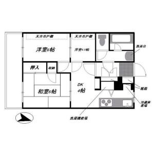 3DK Mansion in Aoki - Kawaguchi-shi Floorplan