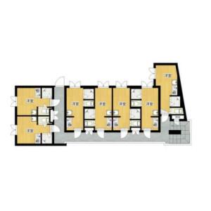 Whole Building {building type} in Nakaochiai - Shinjuku-ku Floorplan