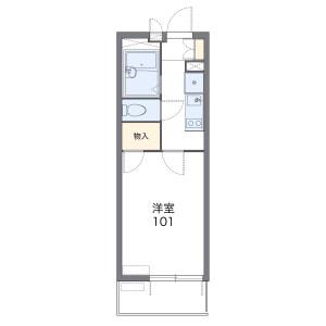 1K Mansion in Kosugimachi - Kawasaki-shi Nakahara-ku Floorplan