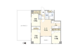 3LDK Mansion in Honcho - Nakano-ku