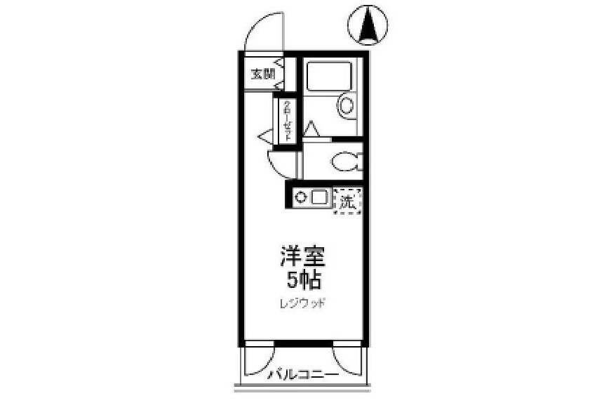 1R Apartment to Rent in Koto-ku Exterior