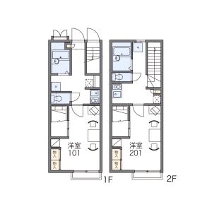 1K Apartment in Minamikoriyamacho - Yamatokoriyama-shi Floorplan