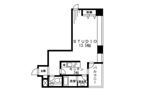 1R Mansion in Mita - Minato-ku