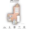 1R Serviced Apartment to Rent in Osaka-shi Fukushima-ku Floorplan