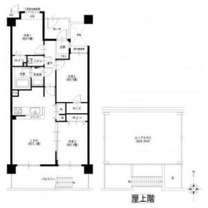 3LDK {building type} in Baba - Yokohama-shi Tsurumi-ku Floorplan