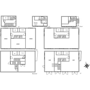Whole Building {building type} in Yushima - Bunkyo-ku Floorplan