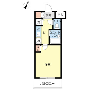 1K Mansion in Hakusan(2-5-chome) - Bunkyo-ku Floorplan