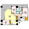 3LDK Apartment to Rent in Osaka-shi Chuo-ku Floorplan