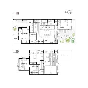 5DK House in Yoshida hommachi - Kyoto-shi Sakyo-ku Floorplan