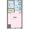 1R Apartment to Rent in Kokubunji-shi Floorplan