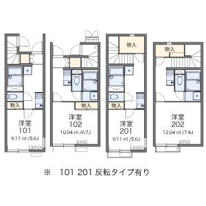 1K Apartment in Chuo - Nakano-ku Floorplan