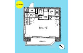 1R {building type} in Shimomeguro - Meguro-ku