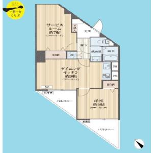 1SDK {building type} in Nukui - Nerima-ku Floorplan