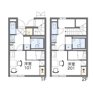1K Apartment in Nakanobu - Shinagawa-ku Floorplan