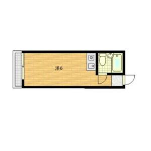 1R Mansion in Kikuicho - Shinjuku-ku Floorplan