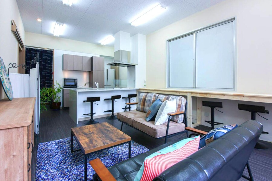 Shared Guesthouse to Rent in Toshima-ku Living Room