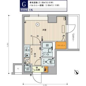 1K Mansion in Minaminagasaki - Toshima-ku Floorplan