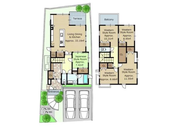 5LDK House to Buy in Kyoto-shi Nishikyo-ku Floorplan