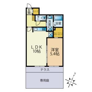 1LDK Mansion in Yutakacho - Shinagawa-ku Floorplan