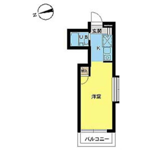 1R Mansion in Inukura - Kawasaki-shi Miyamae-ku Floorplan