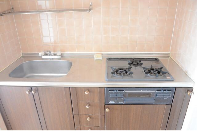 3LDK Apartment to Buy in Kyoto-shi Kamigyo-ku Kitchen