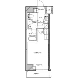 1K Mansion in Oyaguchi kitacho - Itabashi-ku Floorplan