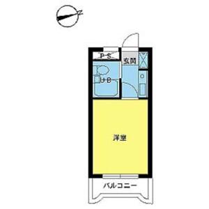 1K Mansion in Ichigayayakuojimachi - Shinjuku-ku Floorplan