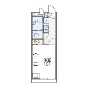 1K Apartment in Tamagawagakuen - Machida-shi Floorplan