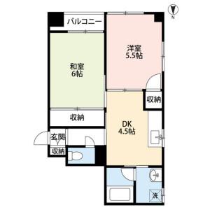 2DK Mansion in Midori - Sumida-ku Floorplan