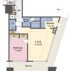 在新宿區購買1LDK 公寓大廈的房產 房間格局