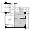 2K Apartment to Rent in Kumamoto-shi Kita-ku Floorplan