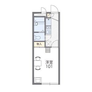 1K Apartment in Soka - Soka-shi Floorplan