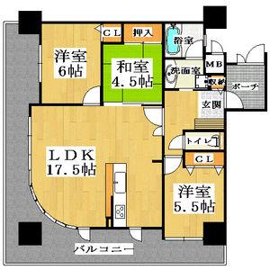 3LDK Apartment in Nakayasuicho - Sakai-shi Sakai-ku Floorplan