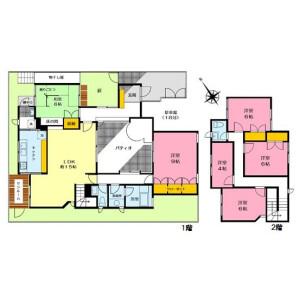 6LDK House in Yamatecho - Yokohama-shi Naka-ku Floorplan