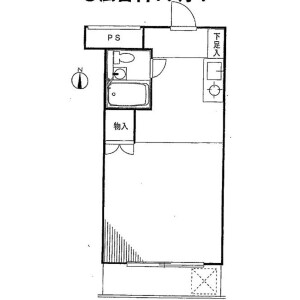 1R Mansion in Nishimagome - Ota-ku Floorplan