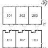 2LDK Apartment to Rent in Machida-shi Floorplan