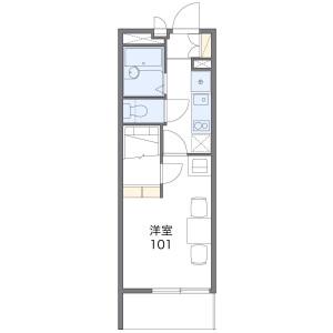 1K Apartment in Arai - Nakano-ku Floorplan