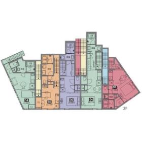 1DK Mansion in Komagome - Toshima-ku Floorplan