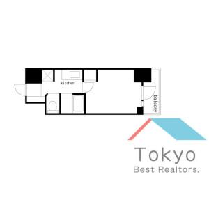 1K Mansion in Nihombashiningyocho - Chuo-ku Floorplan