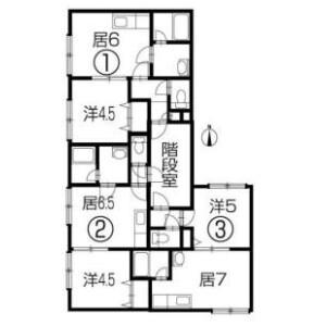 Whole Building {building type} in Minami22-jonishi - Sapporo-shi Chuo-ku Floorplan